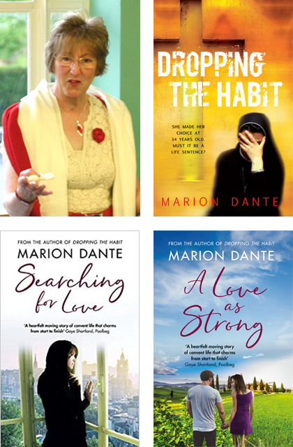 Marion Dante and her books